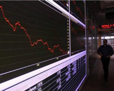 banking stocks fall