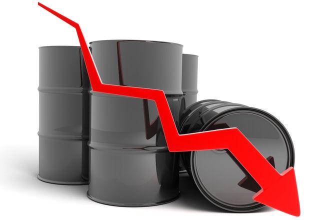crude oil crash